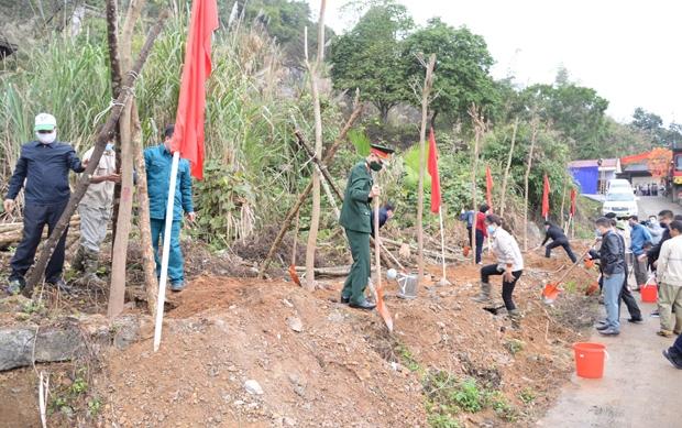Các tổ chức đoàn thể trồng cây