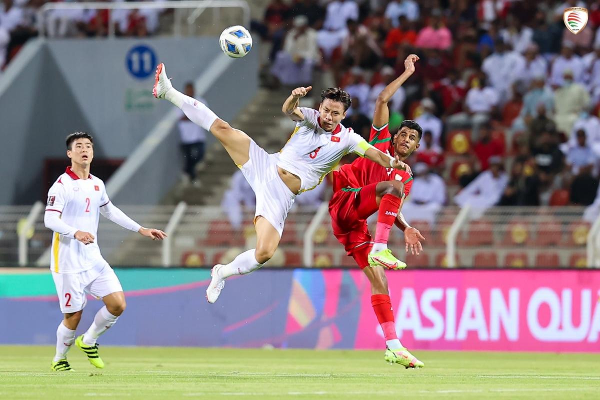 ĐT Việt Nam còn nhiều điểm hạn chế về chuyên môn so với các đối thủ cùng bảng ở vòng loại thứ ba World Cup 2022. (Ảnh: OFA).