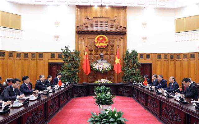 Thủ tướng Nguyễn Xuân Phúc tiếp Bộ trưởng Công an Trung Quốc - Ảnh 1.